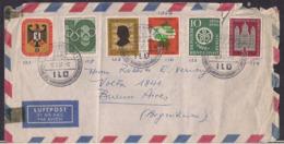 Deustche Bundespost - 1957 - Brief - [7] República Federal