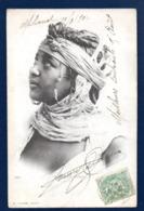 Algérie. Jeune Fille Kabyle.  Milianah - Mohon- Marville. 1902 - Algeria