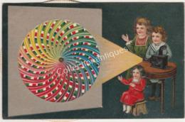 CPA Carte à Système - Publicité Margarine ERA - Magnifique - Fonctionne - Cartoline Con Meccanismi