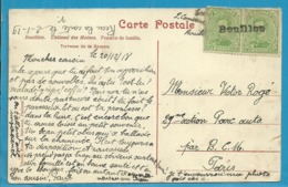137 Op Kaart Met Naamstempel BOUILLON Als Noodstempel Gebruikt - Postmark Collection