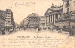 BRUXELLES - Le Boulevard Anspach - Avenues, Boulevards