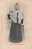 IGLESIAS-COSTUME TIPICO-CARTOLINA NON VIAGGIATA ANNO 1906-1910 - Iglesias