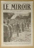 Le Miroir Du 3/10/1915 Général Foch - Les Raids De Nos Escadrilles - Spahis Marocains Dans Leurs Tranchées - Rutt - Gaz - Zeitungen