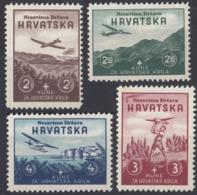 CROAZIA - 1942 - Serie Completa Nuova MNH Formata Da 4 Valori: Yvert 50/53. - Croazia