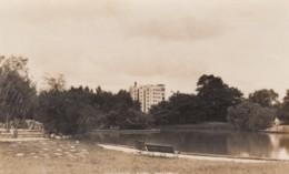 Shanghai China, Jessfield Park, C1910s/30s Vintage Real Photo Postcard - China