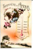 Thermomètre De L'amour - Couple, Militaire, Roses Et Pensées - Paare