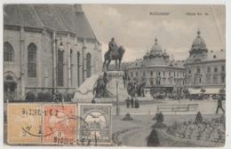 AK Kolozsvár, Mátyás Romania Postcard 1911 Stamp - Romania