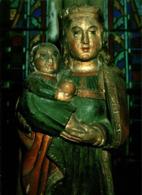 Paray Le Monial Notre Dame De Romay Statue Romane En Pierre Polychrome     CPM Ou CPSM - Paray Le Monial