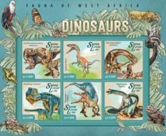 Sierra  Leone 2015 Dinosaurs - Sierra Leone (1961-...)