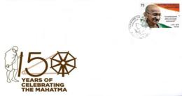 Cuba 2019 FDC`s 150th Anniversary Of Mahatma Gandhi`s Birthdate 1v MNH - Cartas