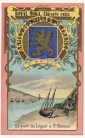 SAINT-BRIEUC - Chromo Pub ROYAL MOKA - Bourgeois & Labre, Cambrai Proville (Nord) Armes Des Villes De France - Tea & Coffee Manufacturers