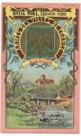 ALENCON - Chromo Pub ROYAL MOKA - Bourgeois & Labre, Cambrai Proville (Nord) Armes Des Villes De France - Tea & Coffee Manufacturers