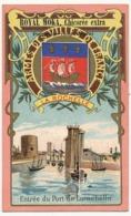 LA ROCHELLE - Chromo Pub ROYAL MOKA - Bourgeois & Labre, Cambrai Proville (Nord) Armes Des Villes De France - Tea & Coffee Manufacturers