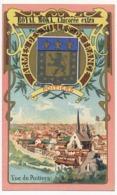 POITIERS - Chromo Pub ROYAL MOKA - Bourgeois & Labre, Cambrai Proville (Nord) Armes Des Villes De France - Tea & Coffee Manufacturers