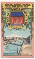 BORDEAUX - Chromo Pub ROYAL MOKA - Bourgeois & Labre, Cambrai Proville (Nord) Armes Des Villes De France - Tea & Coffee Manufacturers