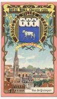QUIMPER - Chromo Pub ROYAL MOKA - Bourgeois & Labre, Cambrai Proville (Nord) Armes Des Villes De France - Tea & Coffee Manufacturers