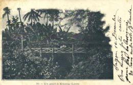 Un Pont à Khong (Laos) RV  Beaux Timbres 5X2 Indochine - Laos