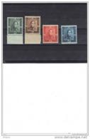 BELGIQUE COB 807/10 ** MNH.  (4M122) - Unused Stamps