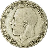 Monnaie, Grande-Bretagne, George V, Florin, Two Shillings, 1921, TB+, Argent - 1902-1971 : Monedas Post-Victorianas