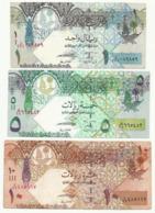 Qatar - 1 , 5 , 10 Riyals - Qatar