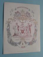 1848 > Société Du CASINO ( Ch. Syts / P. Hollevoet ) Lith. Defferrez ( Porcelein / Porcelaine ) Formaat +/- 17 X 13 Cm - Estampes & Gravures