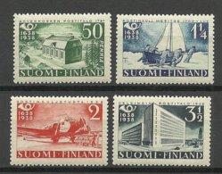 FINLAND FINNLAND 1938 Michel 213 - 216 * - Finland