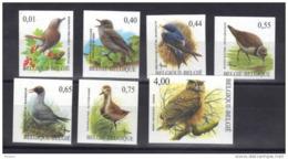 BELGIQUE COB 3264/70 ND, BUZIN. ** MNH (3TM71) - 1985-.. Birds (Buzin)