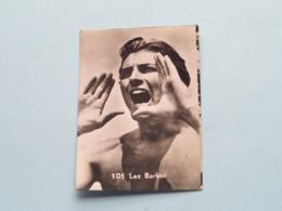 LEX BARKER ( 101 ) > Belgian Chewing Gum ( See / Voir Photo ) Format 5 X 7 Cm.! - Trade Cards