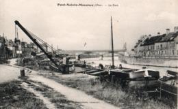 60 PONT-SAINTE-MAXENCE - Le Port - Pont Sainte Maxence