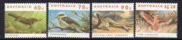 AUSTRALIA, 1993 THREATENED ANIMALS 4 MNH - Ongebruikt