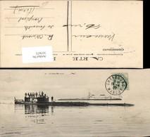 337673,U-Boot Marine Le Sous-Marin X - Unterseeboote