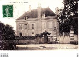 89.  Yonne :  Hauterive : Le Chateau . - Francia