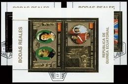 1973, Äquatorial-Guinea, Bl. 88 U.a., Gest. - Equatoriaal Guinea