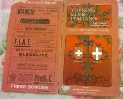 CARTA DEI CONFINI D'ITALIA FOGLIO II ANNO X N. 87 TCI - Carte Geographique