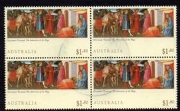 AUSTRALIA, 1994 $1.80 XMAS BLOCK 4 FU - 1990-99 Elizabeth II