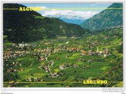 LAGUNDO:  VEDUTA  CON  GRUPPO  ORTLES  -  ANGOLO  DIFETTOSO  -  PER  LA  SVIZZERA  -  FG - Bolzano (Bozen)