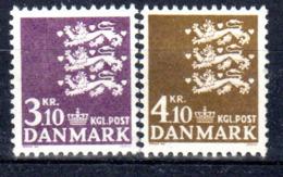 Dänemark 1970 Mi. 499-500 ** Postfrisch (br1970) - Danimarca