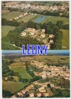 2 CPM De  VANDRE     (17) -  VUE AERIENNE  N° 4108-4109 - Francia