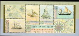 AUSTRALIA, 1992 COLUMBUS MINISHEET FU - 1990-99 Elizabeth II