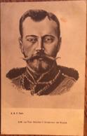 CPA, RUSSIE - S.M. Le Tsar Nicolas II, Empereur De Russie - Illustrateur S D'ALBA - éd A.B.F, Paris, Non écrite - Rusia