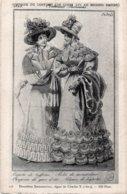 CPA   HISTOIRE DU COSTUME---CAPOTE DE TAFFETAS - Moda
