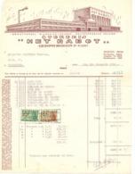 Factuur Facture - Wijnen Likeuren - Stokerij Het Rabot - Gent 1952 - Alimentaire