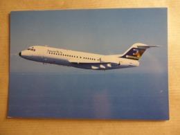 ANSETT  FOKKER 28-4000  AIRLINE ISSUE / CARTE COMPAGNIE - 1946-....: Era Moderna