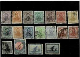 Argentina ,2 Serie Complete Usate ,ottima Qualita - Corrientes (1856-1880)