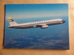 LUFTHANSA   AIRBUS A 321    AIRLINE ISSUE / CARTE COMPAGNIE - 1946-....: Era Moderna