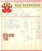 Factuur Facture - Kruidenierswaren Koffiebranderij Gebr. Roobrouck - Desselgem 1951 - Alimentaire