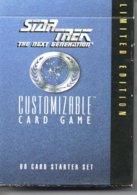 Jeu De60  Cartes STAR TREK Playling Cards Game - The Next Generation Limited Edition - Star Wars