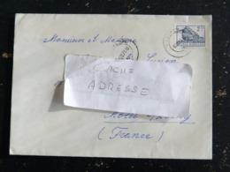 LETTRE ROUMANIE ROMANIA ROMANA AVEC YT 2774 - MONT BUCEGI LE SPHINX - Cartas