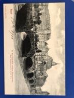 Basel. Im Bau Begriffene Mittlere Rheinbrucke 1904 - BS Bâle-Ville