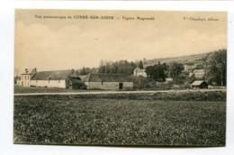 CPA  02 : CONDE Sur AISNE  Vignes Magnaudé  A  VOIR   !!!! - Autres Communes